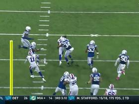 Watch: Ivory dashes through defense for 20-yard gain