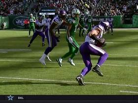 Watch: Harrison Smith intercepts tipped pass for 52-yard return