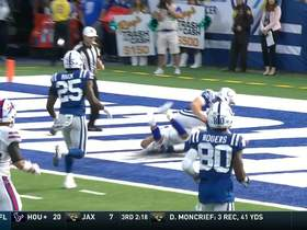 Watch: Colts' high snap rolls out back of end zone for Bills safety