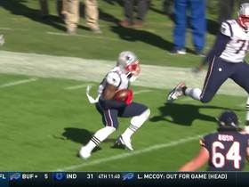 Watch: Can't-Miss Play: J.C. Jackson makes unusual INT after pinning football