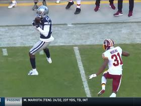 Watch: Allen Hurns catches a perfect pass from Prescott for a first down