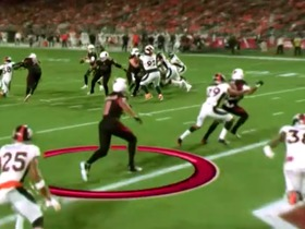 Watch: See Larry Fitzgerald get open for a 4-yard TD from his POV | True View