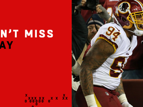 Watch: Can't-Miss Play: Redskins get HUGE strip-sack TD