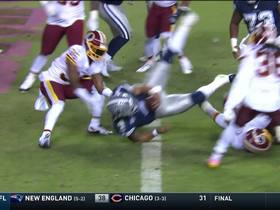 Watch: Dak FLIES over line for TD
