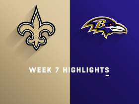Watch: Saints vs. Ravens highlights | Week 7