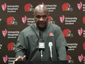 Watch: Browns postgame press conference