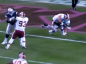 Watch: See Kerrigan strip-sack Dak for a TD in 360 degrees | True View