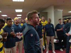 Watch: McVay: That's what it looks like when all three phases are playing together