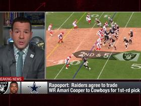 Watch: Rapoport: Raiders enter a 'full rebuild' with Cooper trade