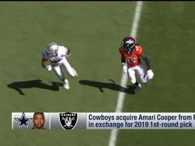 Watch: Does Amari Cooper's fantasy value go up with the Cowboys? | Fantasy Live