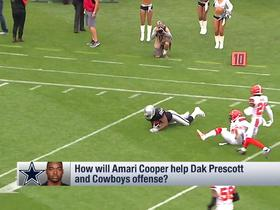 Watch: Reggie Wayne: Amari Cooper will solve Cowboys' need for WR1