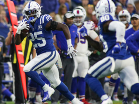 Watch: See Marlon Mack cruise down sideline for 20-yard TD | True View
