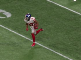 Watch: Sterling Shepard loses Robert Alford on 53-yard catch