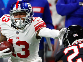 Watch: OBJ becomes fastest player to 5,000 receiving yards