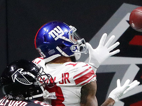 Watch: OBJ toe-drags in back of end zone for last-second TD