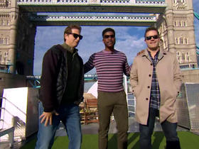 Watch: GMFB tours London on the River Thames
