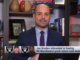 Watch: Garafolo: Don't be surprised if Marshawn Lynch tries to come back this season