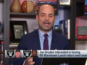 Watch: Garafolo: Don't expect Derek Carr to be traded anytime soon
