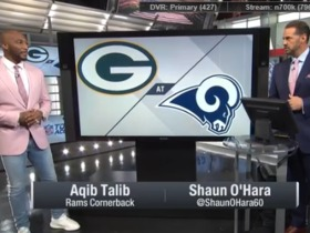 Watch: Talib breaks down how the Rams will defend against Rodgers