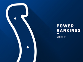 Watch: Colts rise two spots to No. 27 in Week 8 | Power Rankings