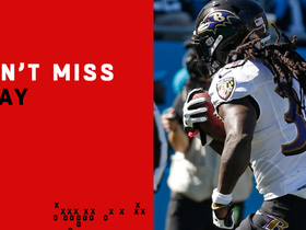 Watch: Can't-Miss Play: Alex Collins spins out of double-team tackle for TD