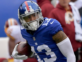 Watch: Odell Beckham breaks free for 32-yard catch and run
