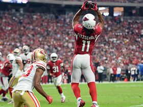 Watch: Fitz gets up to catch key 20-yard pass over the middle