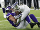 Watch: Harrison Smith gets UP for Brees' first INT of season