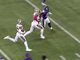 Watch: Lattimore scoops up Thielen's fumble for 54 yards