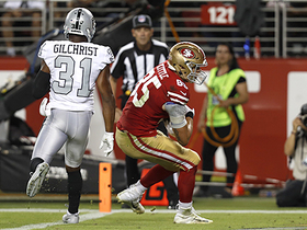 Watch: George Kittle completes epic drive with TD catch