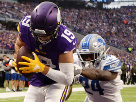 Watch: Thielen sneaks past Nevin Lawson for TD