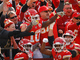 Watch: Tyreek Hill leaps into the stands to celebrate 37-yard TD