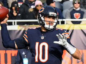 Watch: Trubisky LAUNCHES to Allen Robinson for diving TD