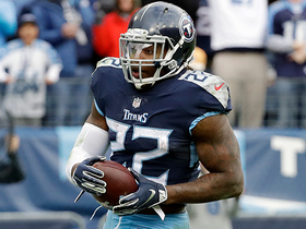 Watch: Derrick Henry takes in direct snap for red-zone TD