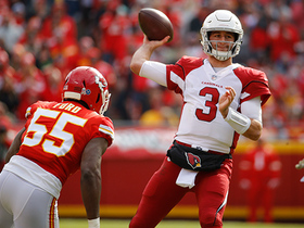 Watch: Dee Ford sacks Rosen in blink of an eye on fourth down