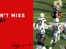 Watch: Can't-Miss Play: Punter picks up 42 yards on fake