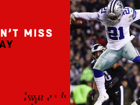 Watch: Can't-Miss Play: Zeke gets UP for epic hurdle