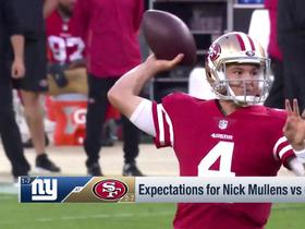 Watch: MJ Acosta: Nick Mullens isn't phased by back-to-back prime time games