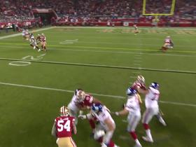 Watch: Second time's the charm for Eli and OBJ on TD throw