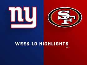 Watch: Giants vs. 49ers highlights | Week 10