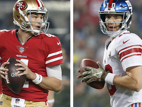 Watch: NFL-N-Motion: Mullens vs. Manning on 'MNF'