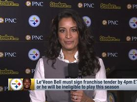 Watch: Aditi Kinkhabwala: Steelers players will have 'sense of relief' after Bell's deadline arrives