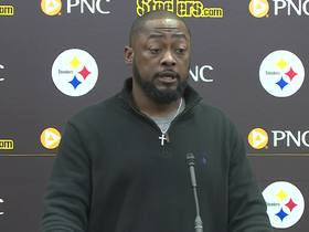 Watch: Tomlin on Bell potentially missing season: 'So be it'