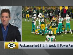 Watch: Packers rise four spots to No. 11 | Power Rankings