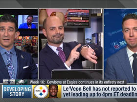 Watch: Le'Veon Bell doesn't sign, will miss 2018 season