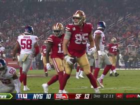 Watch: See George Kittle receive a Nick Mullens bullet in 360 | True View