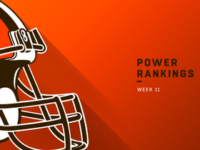 Watch: Browns rise four spots in Week 11 | Power Rankings