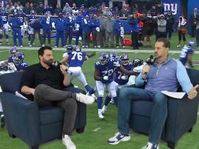 Watch: DDFP: Shaun O'Hara on the Giants issues this season