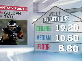 Watch: Cynthia Frelund's Week 11 fantasy projections | NFL Fantasy Live