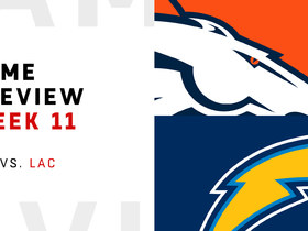 Watch: Broncos vs. Chargers Week 11 preview | NFL Playbook